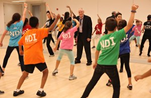 d' Amboise teaching class at NDI