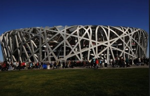 Bird's Nest  Stadium at the 2008 Beijing Olympics