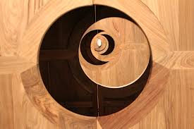 Wood Installation by Ai Weiwei