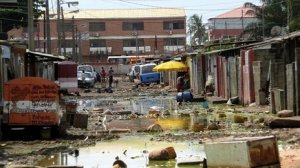The slums of Luanda