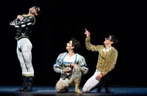 Mercutio, Romeo and Benvolio