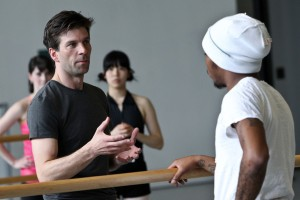 Trevitt teaching in Washington for a Chance to Dance